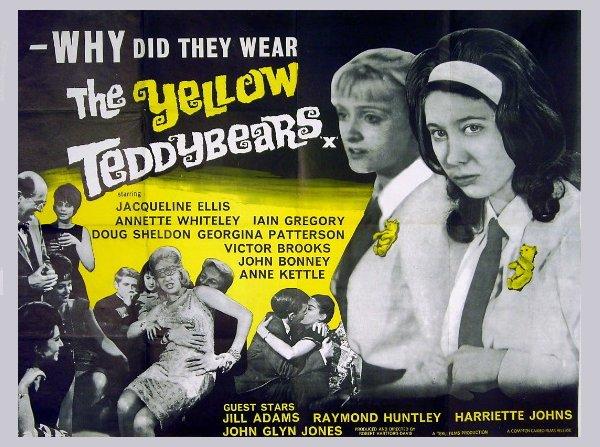 Iain Gregory Yellow Teddy Bear